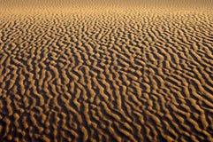 撒哈拉大沙漠沙子结构 免版税库存图片