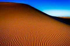 撒哈拉大沙漠沙子 免版税库存照片