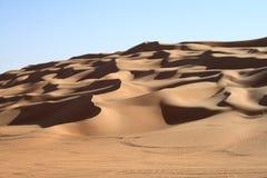 撒哈拉大沙漠的沙漠 图库摄影