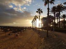 撒哈拉沙滩 免版税图库摄影