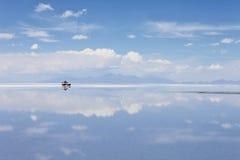 撒拉尔de Uyuni 库存照片