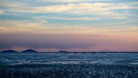 撒拉族de Uyuni 库存图片