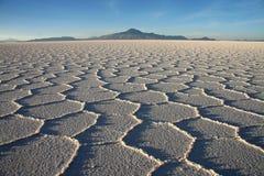 撒拉族de Uyuni 免版税库存照片