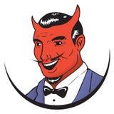 撒旦商标 库存图片