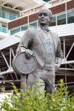 撒母耳丘纳德Statue先生 图库摄影