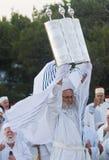 撒马利亚人Shavuot祈祷 图库摄影