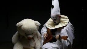 播放俄式三弦琴,录影的彼罗 股票视频