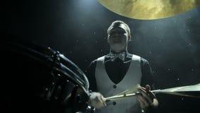 播放鼓的鼓手 股票视频