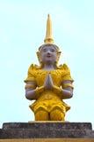 操作天使招呼泰国的图象 库存照片