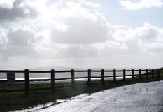 操刀区域在Moher爱尔兰峭壁  图库摄影