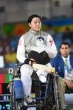 操刀在残疾人奥林匹克运动会2016年 免版税库存图片