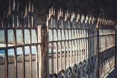 操刀铁金属的要素加工 自由的制约 免版税库存照片