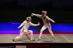 操刀kyiv世界的2012个冠军 库存图片
