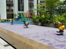 操场在香港 免版税库存照片