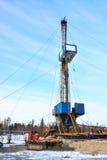 操练的凿岩机为油和煤气 免版税库存图片