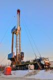 操练的凿岩机为油和煤气 库存照片