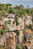攀岩体育 库存照片