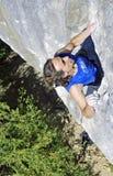 攀岩在克里米亚2 库存照片