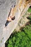 攀岩2 免版税库存图片