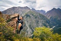 攀登山 库存照片