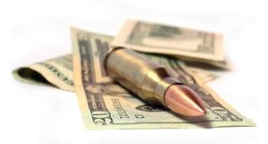 支出战争 免版税库存图片