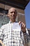 支持以色列 免版税图库摄影