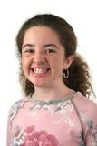 支撑青少年的女孩 免版税库存照片