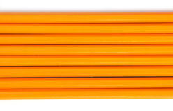 2支编号铅笔 免版税库存照片