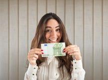 收入和储款 库存照片