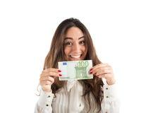收入和储款 免版税库存图片