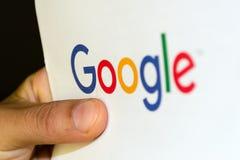 收到信从谷歌 免版税库存照片