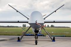 收割机UAV寄生虫 免版税库存照片