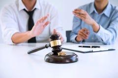 收缩离婚判决marr的溶解或取消 库存图片