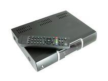 收货人远程卫星电视 免版税库存图片