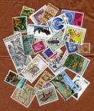 收集不同的印花税 库存图片