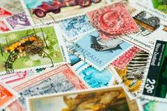 收集印花税 库存图片