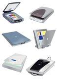 收集图象扫描程序 免版税库存图片