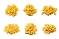 收集意大利人意大利面食 图库摄影