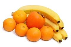 收集新鲜水果 免版税库存照片