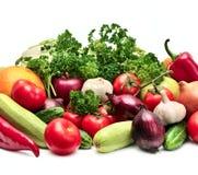 收集果菜类 库存照片