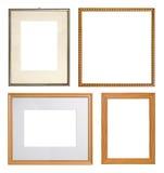 收集框架照片 库存图片