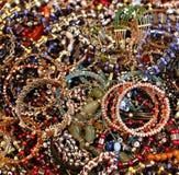 收集珠宝 免版税库存照片