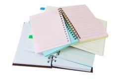 收集笔记本 免版税图库摄影