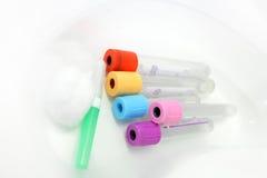 收集管的病理学血液 图库摄影