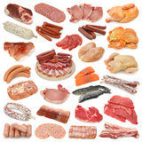 收集肉 免版税库存图片