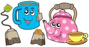 收集茶 免版税库存图片