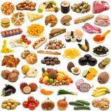 收集食物大页 免版税库存图片