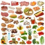 收集食物 免版税库存照片