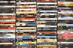 收集dvd电影射击工作室 图库摄影