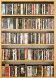 收集dvd电影 库存照片
